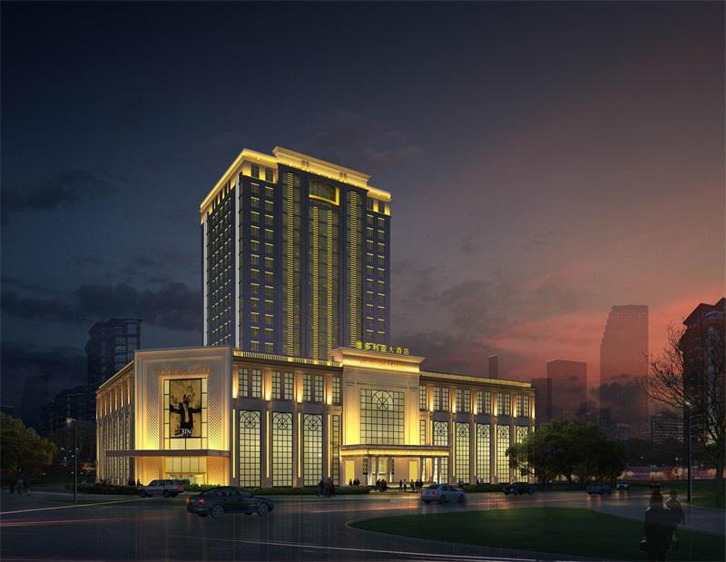 维多利亚酒店亮化工程